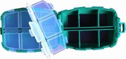 Multifuntionele magnetische doos met 12 vakjes