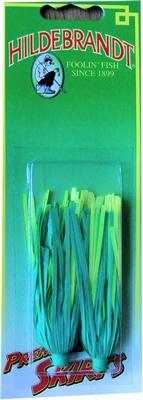 Vinyl skirt van Hildebrandt kleur groen geel